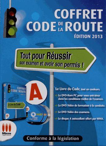 Réussir son code de la route ; coffret (édition 2013)