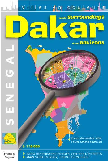 Dakar et ses environs ; 1/16.000