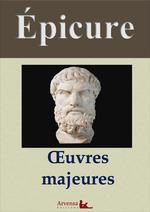 Vente Livre Numérique : Épicure : Oeuvres majeures et annexes (annotées, illustrées)  - Épicure