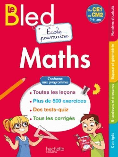 BLED ; école primaire maths