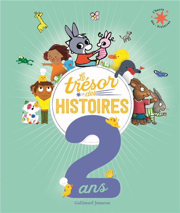 Le trésor des histoires : 2 ans