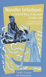 Couverture de Nouvelles fantastiques t.1 - comment wang fo fut sauve et autres recits