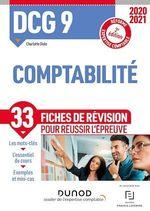 Vente EBooks : DCG 9 ; comptabilité ; 33 fiches de révision pour réussir l'épreuve (édition 2020/2021)  - Charlotte Disle