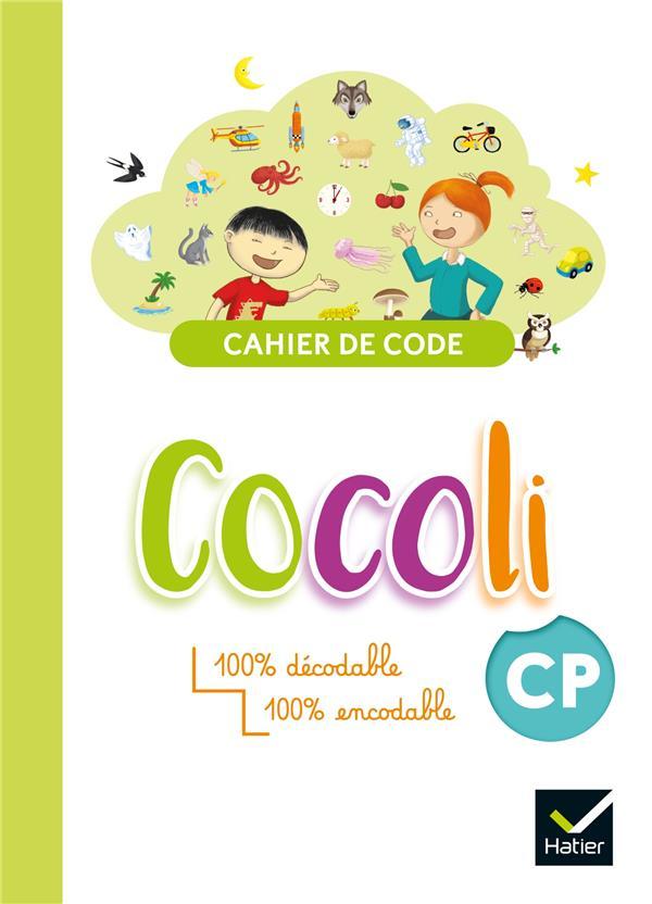 Cocoli ; lecture ; CP ; cahier de code élève