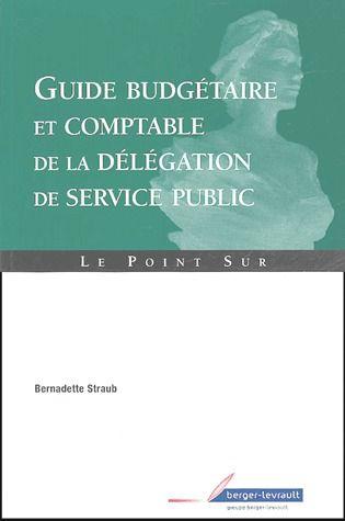 Guide Budgetaire Comptable Et Fiscal De La Delegation De Service Public
