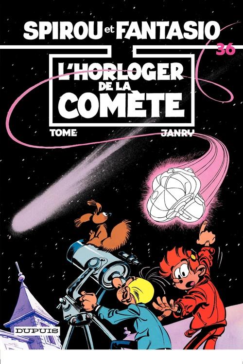Spirou et Fantasio - Tome 36 - L'HORLOGER DE LA COMETE  - Janry  - Philippe Tome  - Tome