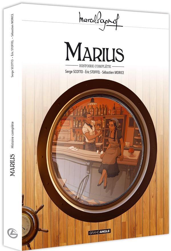 Marius ; coffret t.1 et t.2