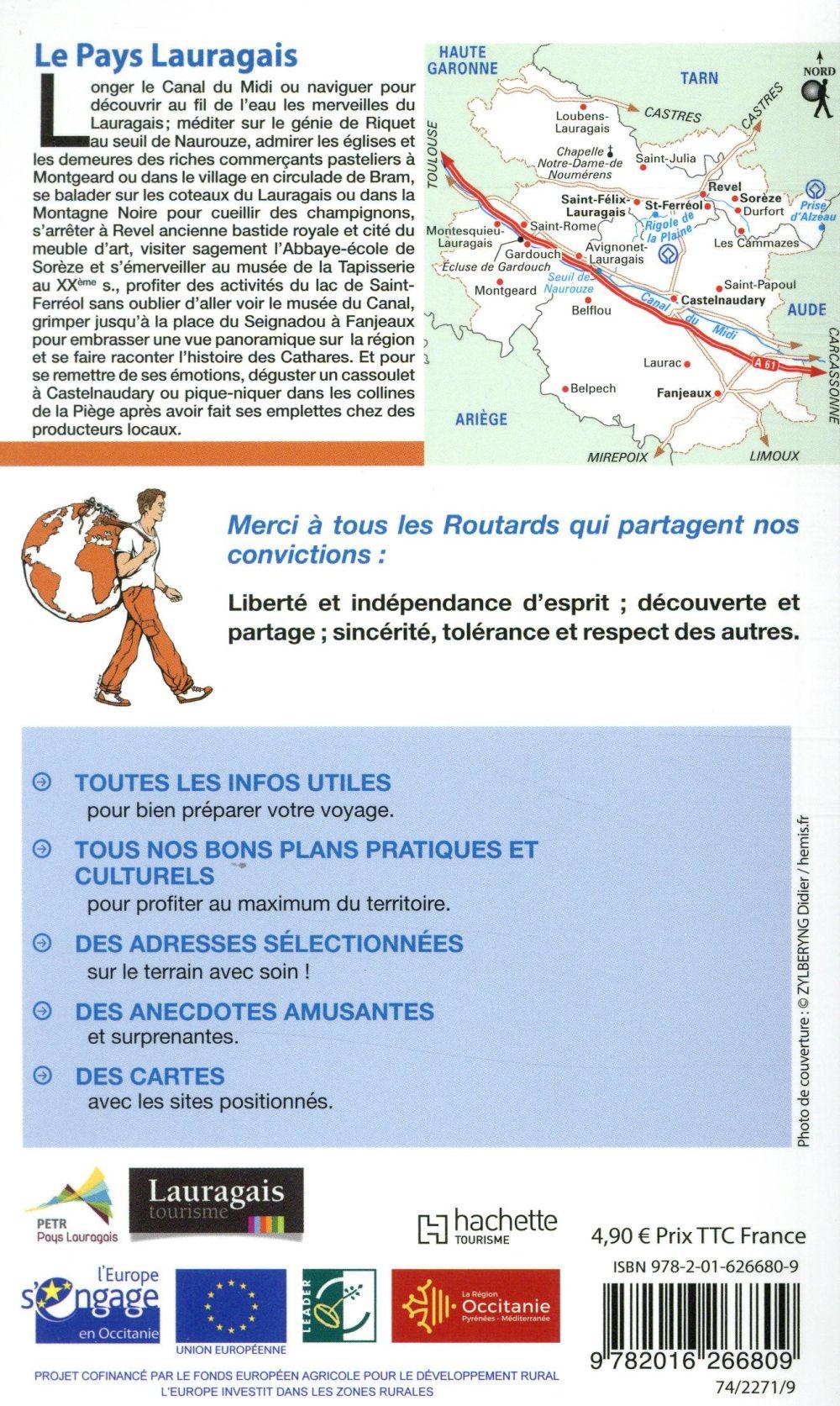 Guide du Routard ; le Pays Lauragais