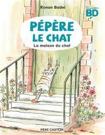 Couverture de Pépère le chat t.1 ; la maison du chat