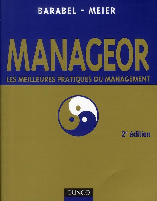 Manageor ; Les Meilleures Pratiques Du Management (2e Edition)