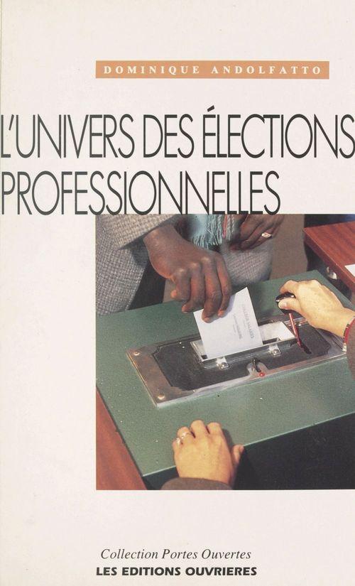 Univers des elections professionnelles
