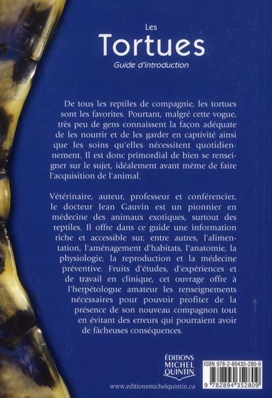 Les tortues ; guide d'introduction
