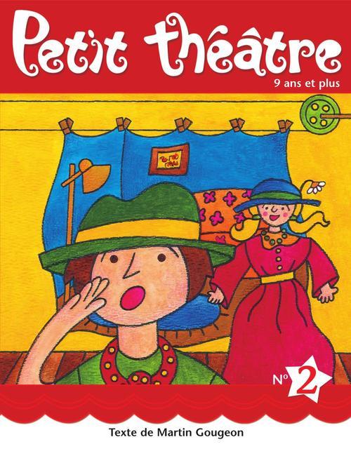 Petit theatre 2 roses bleues et deux mini pieces
