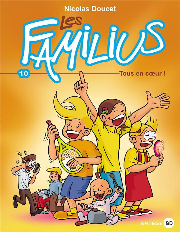 Les Familius T.10 ; les Familius, tous en coeur !