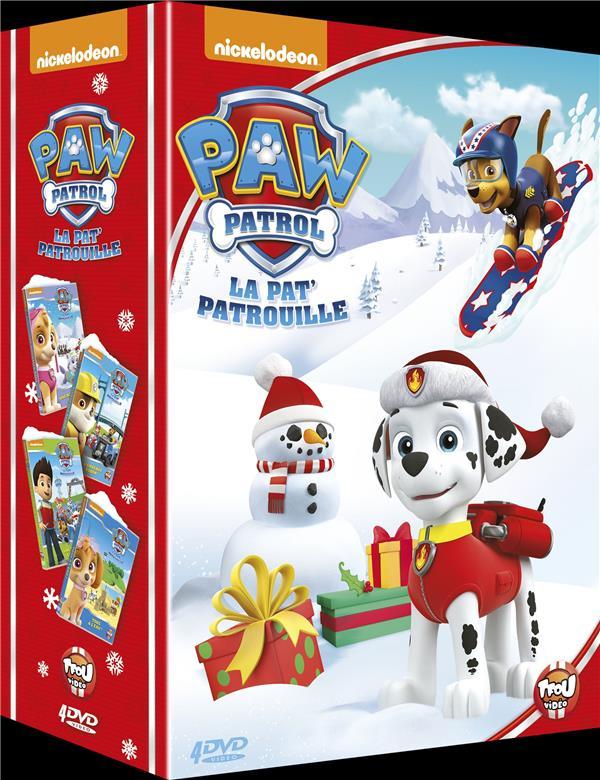 Coffret La Pat Patrouille 4 Films
