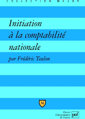 Initiation A La Comptabilite Nationale