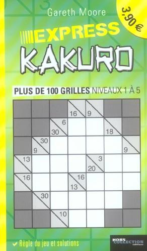 Le livre du kakuro t.2