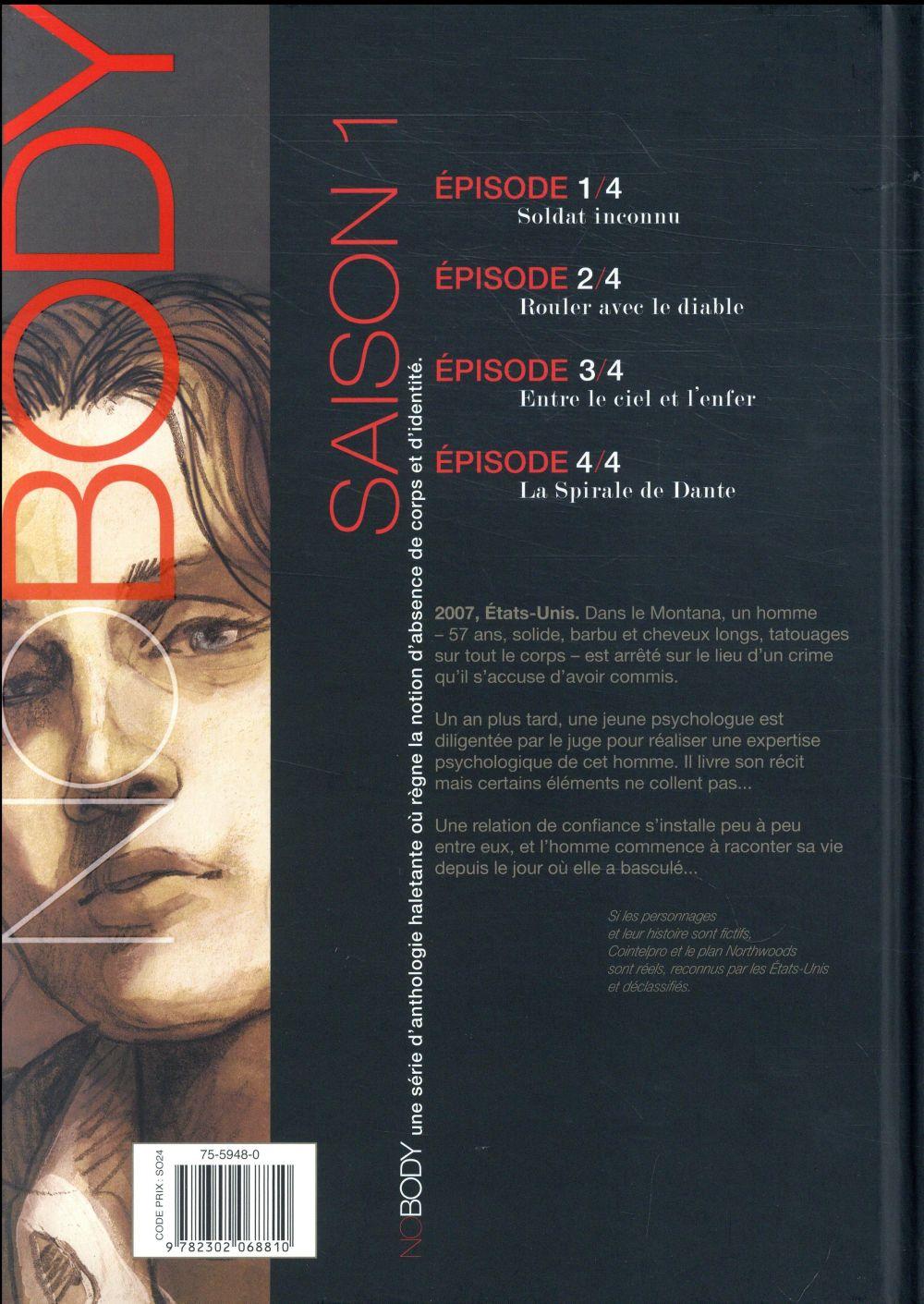 No body - saison 1 T.4 ; la spirale de Dante