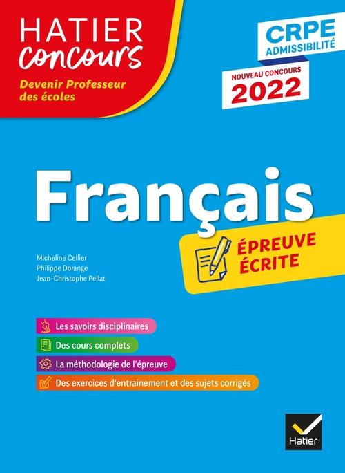 français ; CRPE ; épreuve écrite (édition 2022)