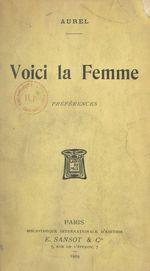 Vente Livre Numérique : Voici la Femme  - Aurel