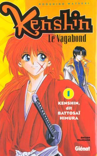 Kenshin Le Vagabond - Tome 01