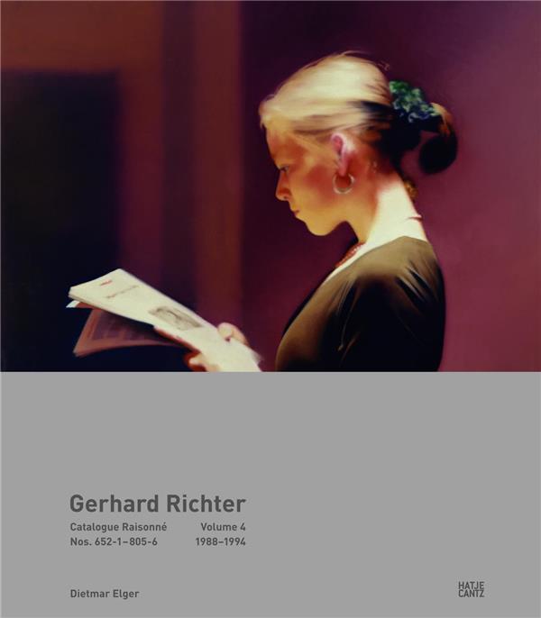 Gerhard Richter ; catalogue raisonné vol. 4 ; 1988-1994