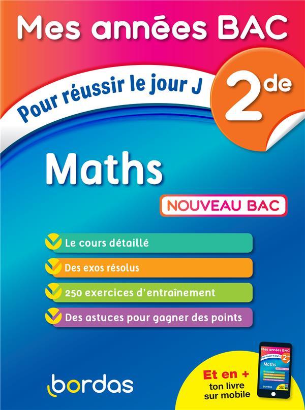 Mathématiques ; 2de (édition 2019)