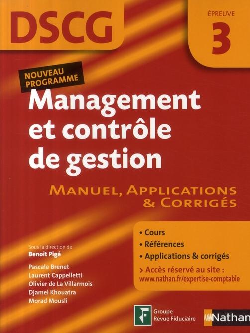 Manag Cont Gestion Epr 3 Dscg