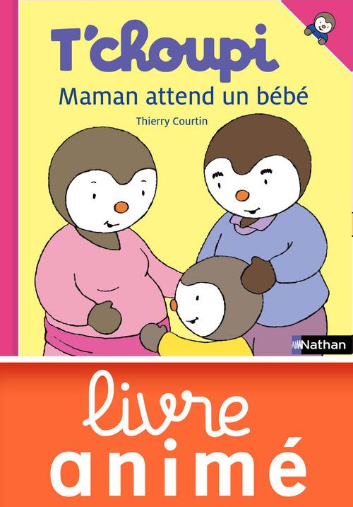 T'choupi ; maman attend un bébé