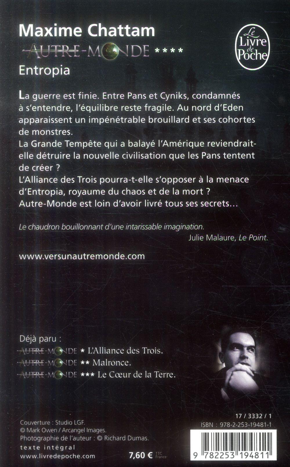 Autre-Monde T.4 ; Entropia