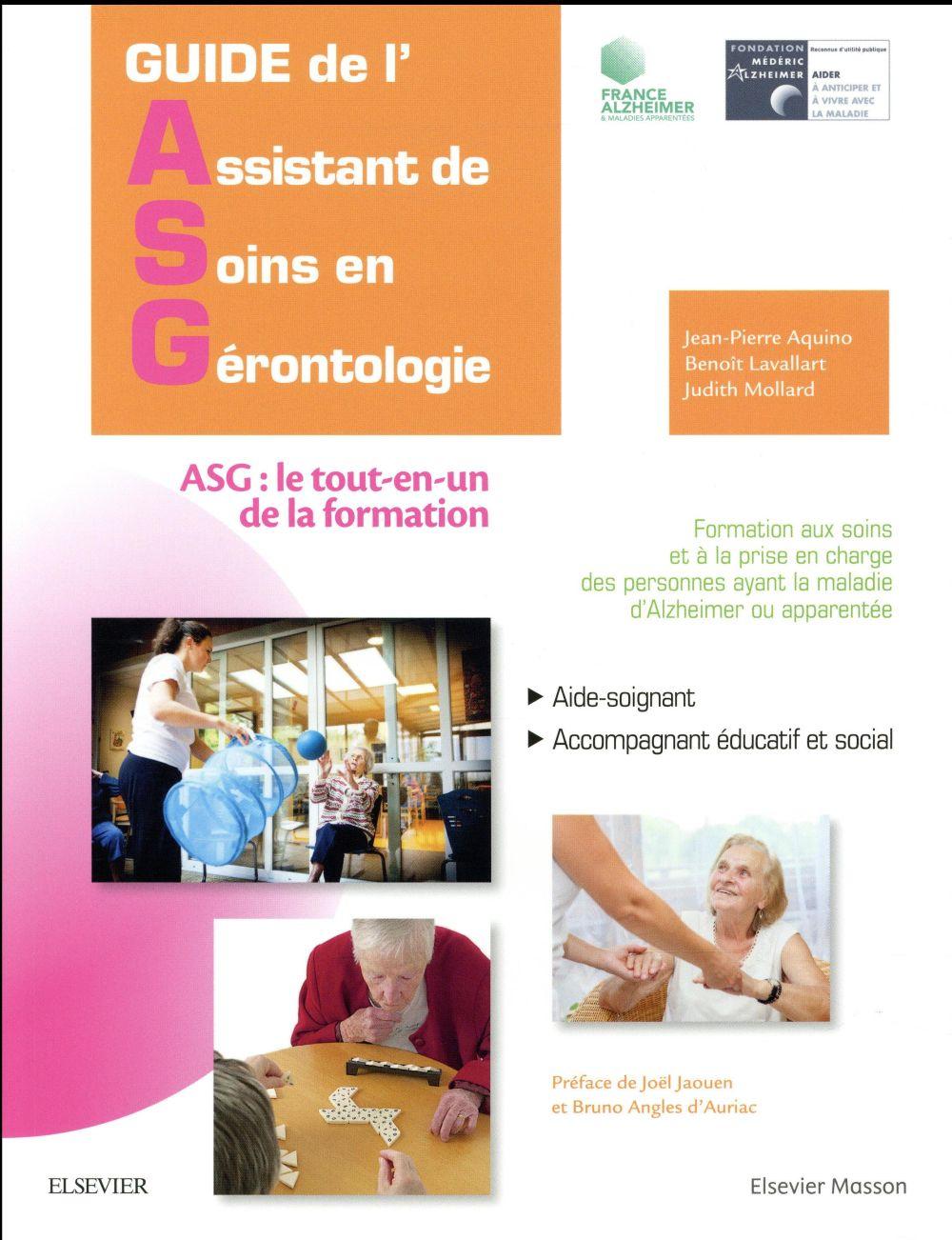 Guide de l'assistant de soins en gérontologie (2e édition)