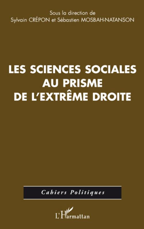 Les sciences sociales au prisme de l'extrème droite