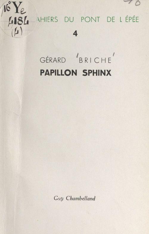 Papillon sphinx