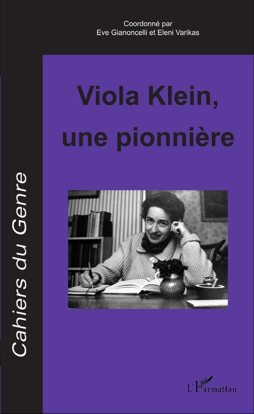 Viola Klein, une pionnière
