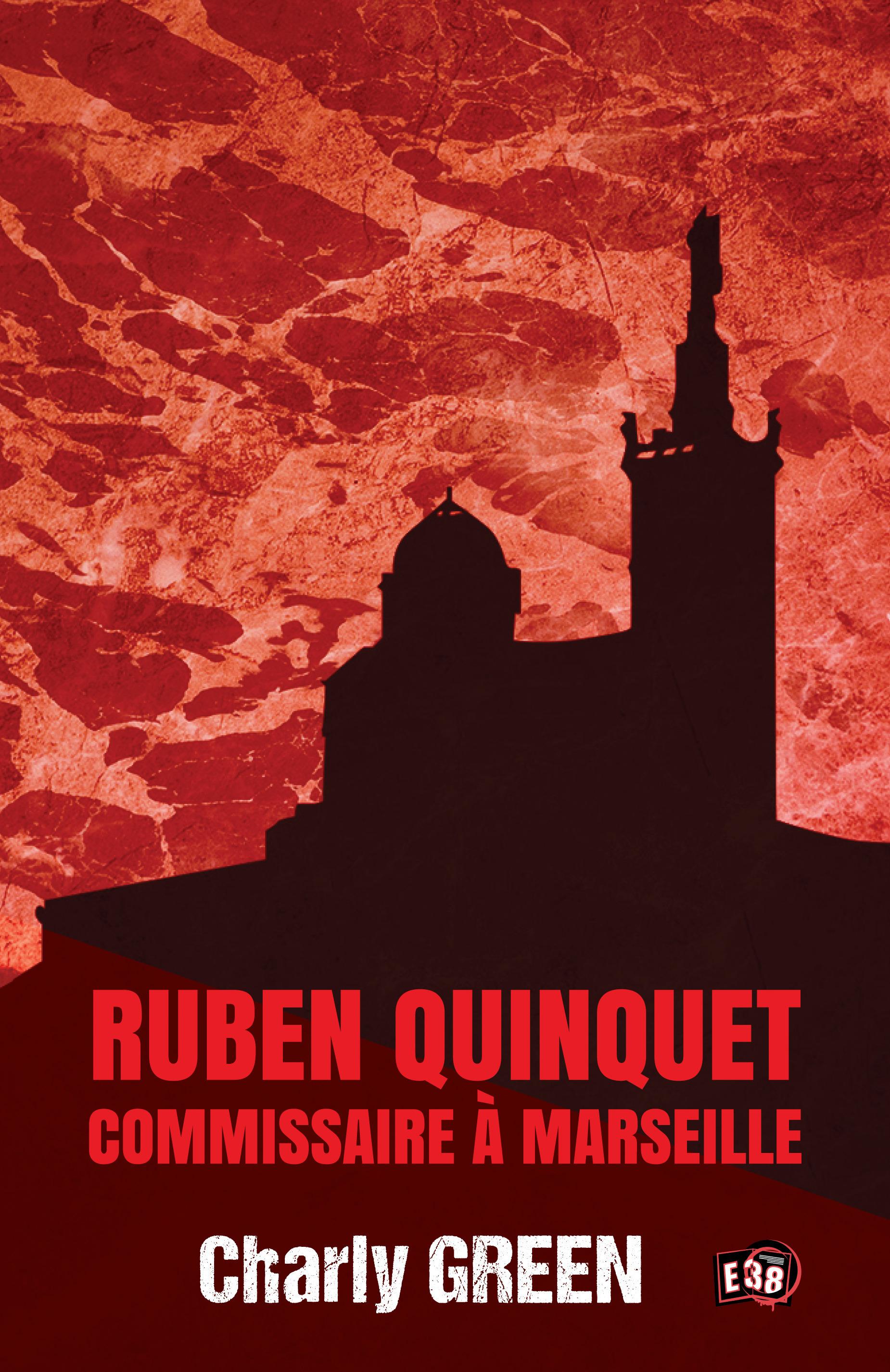 Ruben Quinquet, commissaire à Marseille  - Charly Green