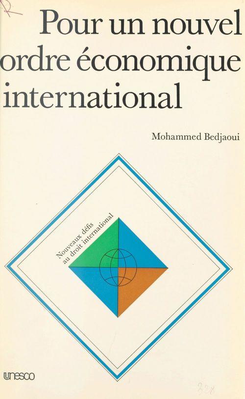 Pour un nouvel ordre économique international