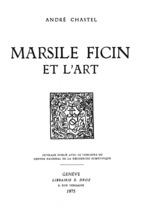 Vente Livre Numérique : Marsile Ficin et l´art  - André Chastel