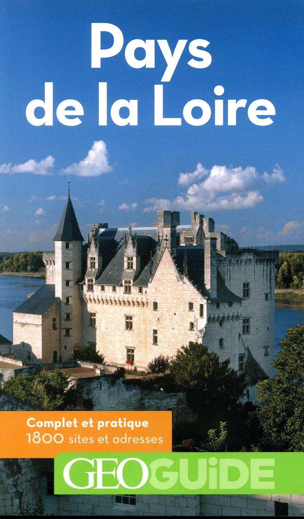GEOGUIDE  -  PAYS DE LA LOIRE (EDITION 2018)