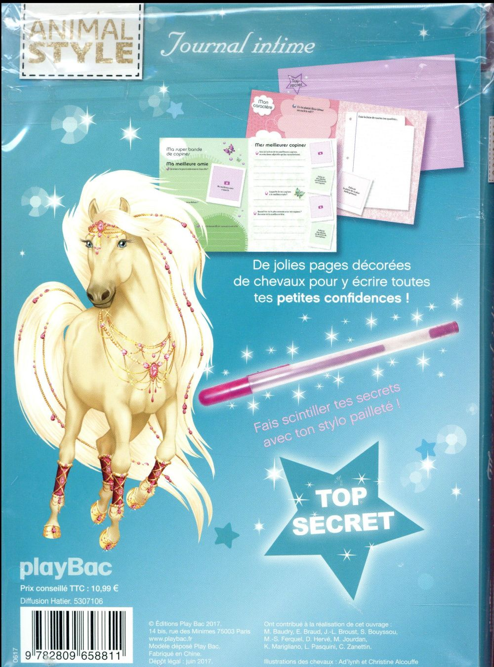 Animal style ; journal intime cheval