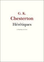 Vente Livre Numérique : Hérétiques  - Gilbert Keith CHESTERTON