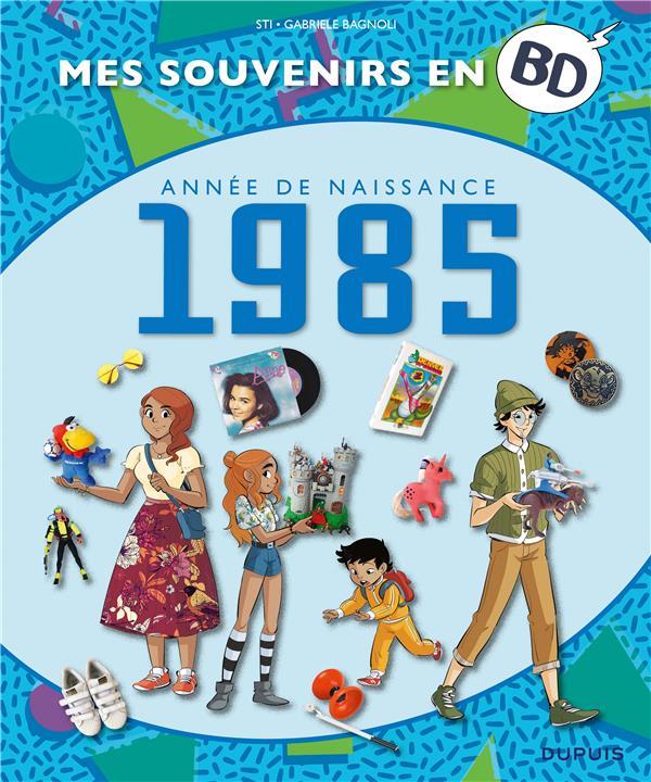 mes souvenirs en BD t.46 ; 1985