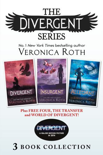 Divergent Series (Books 1-3) Plus Free Four, The Transfer and World of