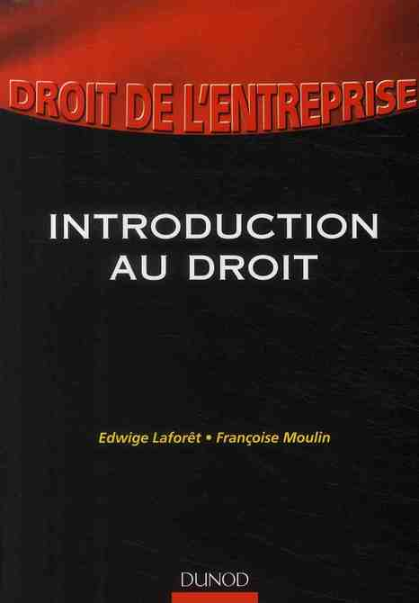 Droit De L'Entreprise ; Introduction Au Droit