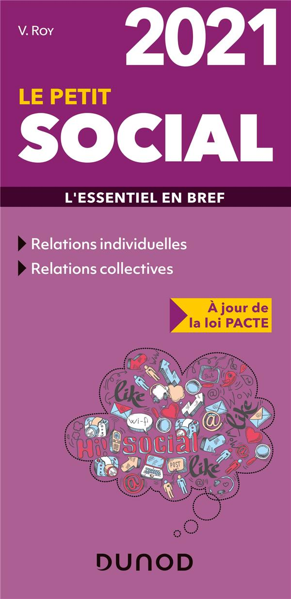 Le petit social ; l'essentiel en bref (édition 2021)