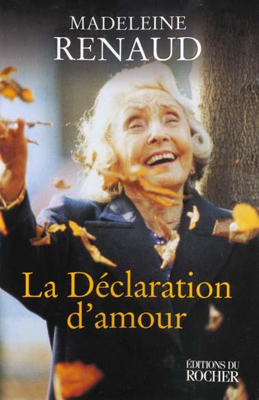 La declaration d'amour