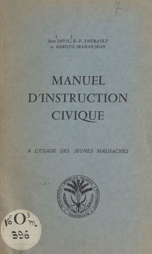 Manuel d'instruction civique