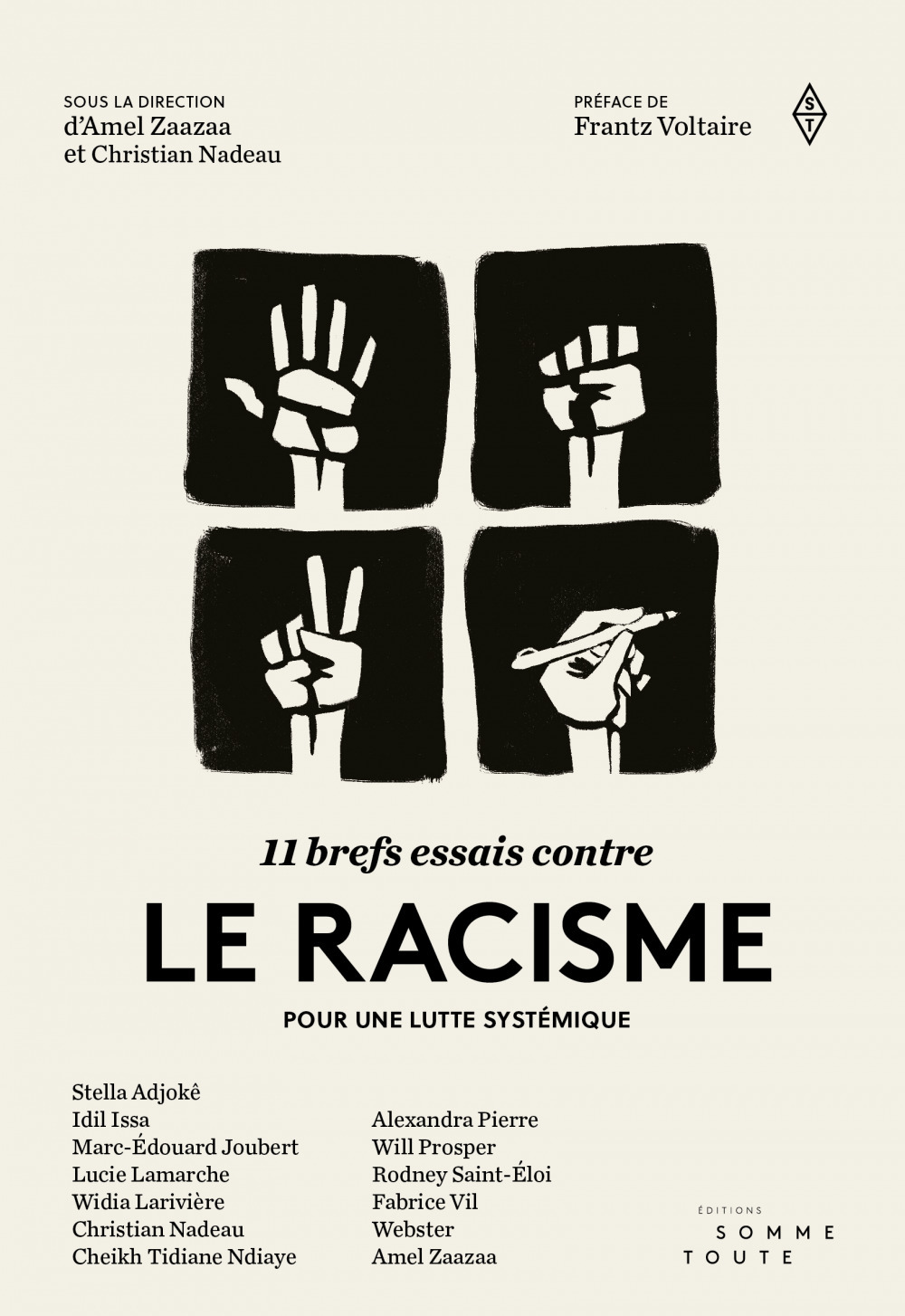 11 brefs essais contre le racisme ; pour une lutte systémique