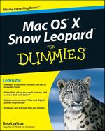 Vente Livre Numérique : Mac OS X Snow Leopard For Dummies  - Bob LEVITUS