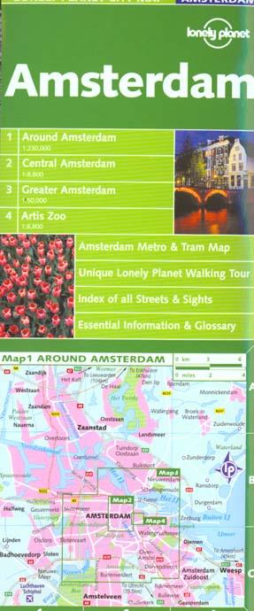 Amsterdam map 1ed