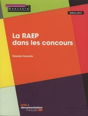 La RAEP dans les concours (édition 2013)